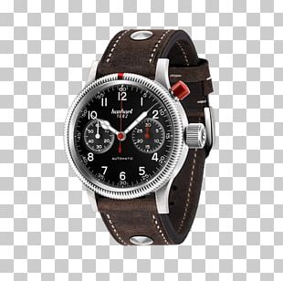 Hanhart Chronograph Watch Pioneer Corporation Fliegeruhr PNG