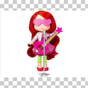 Strawberry Shortcake Doll Toy PNG