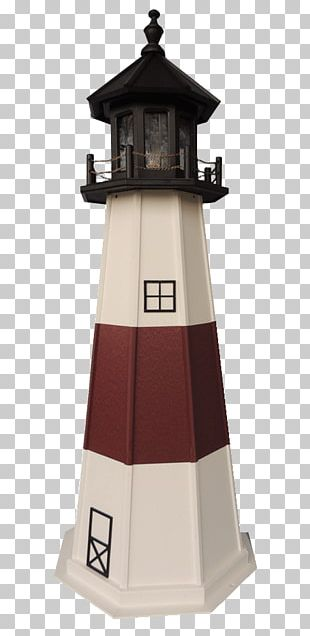 Montauk Point Light Lighthouse Plastic Lumber Garden Furniture Yard PNG