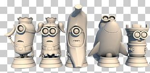 Chess Piece 3D Printing Minions Video Game PNG