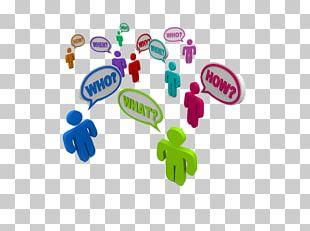 Social Media Customer Relationship Management Business PNG