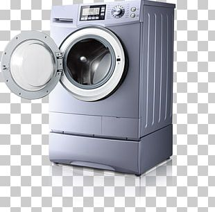 Washing Machine Clothes Dryer Home Appliance PNG
