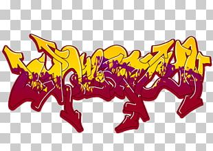 Graffiti Art Sketch PNG