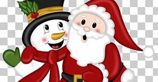 Santa Claus Christmas Day Snowman PNG