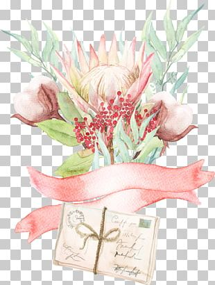Watercolor Painting Floral Design Flower PNG