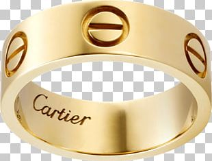 Cartier Ring Jewellery Gold Bracelet PNG