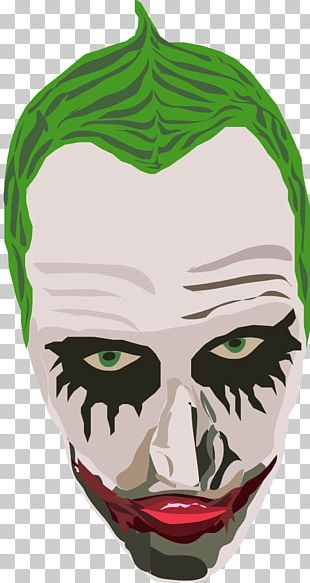 Joker Green Mask Facebook PNG