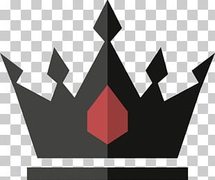 Black Crown Icon PNG