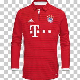 FC Bayern Munich T-shirt Jersey Kit Adidas PNG