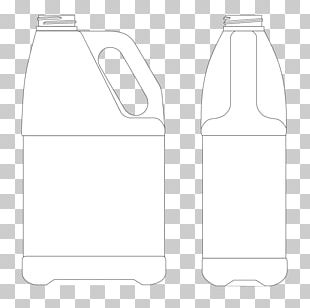 Bottle White Material PNG