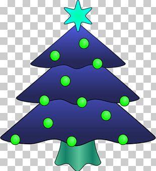 Christmas Tree Drawing PNG