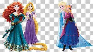 Merida Rapunzel Fa Mulan Ariel Princess Jasmine PNG
