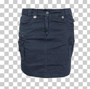 Jeans Denim Cobalt Blue Waist PNG