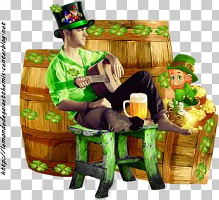 Saint Patrick's Day Woman March 17 PNG