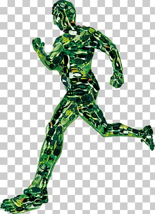 FIG Creative Movement Running Man PNG