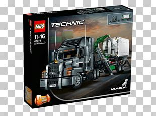 Mack Trucks Lego Technic Semi-trailer Truck PNG