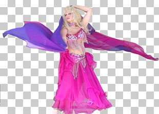 Dance Costume Purple PNG