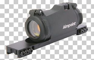 Aimpoint AB Red Dot Sight Reflector Sight Weaver Rail Mount PNG
