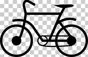 Electric Bicycle Cycling Pictogram Bike Rental PNG