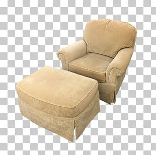Club Chair Foot Rests Comfort PNG