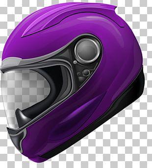 Motorcycle Helmet Bicycle Helmet Scooter Purple Ski Helmet PNG