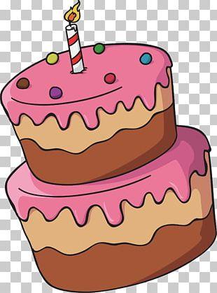 Birthday Cake Torte Chocolate Cake Tart PNG