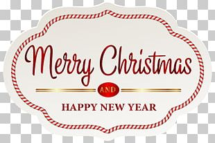 Christmas Label Paper Gift PNG