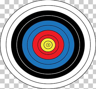 Olympic Games Target Archery Arrow Shooting Target PNG