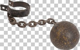 Rusty Ball And Chain PNG
