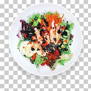 Salad Asian Cuisine Plate Vegetarian Cuisine Platter PNG