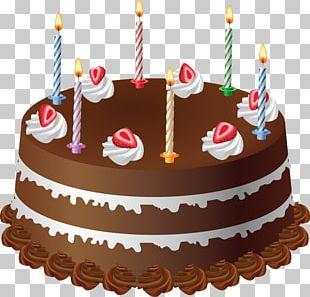 Birthday Cake Layer Cake Chocolate Cake PNG