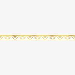 Gold Ribbon Material PNG