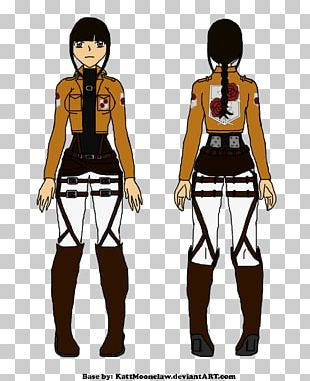 Mikasa Ackerman Attack On Titan A.O.T.: Wings Of Freedom Costume Reference PNG