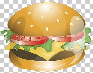 Cheeseburger Hamburger Fast Food Veggie Burger PNG