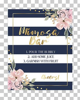 Baby Shower Wedding Invitation Navy Blue Diaper PNG