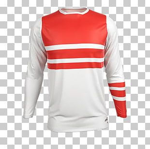 Jersey T-shirt Sweater Motocross Sleeve PNG