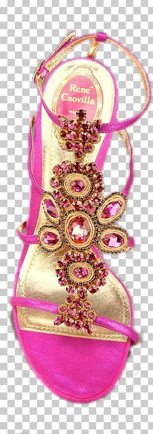 Christmas Ornament Pink M Shoe RTV Pink PNG