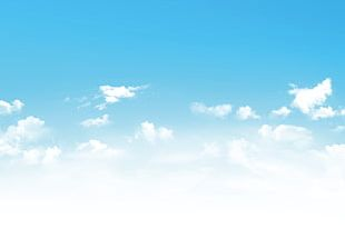 Blue Sky Background PNG