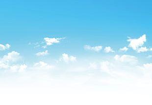 Blue Sky Background PNG
