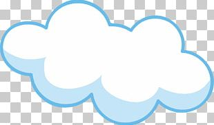 Cartoon Cloud Drawing PNG