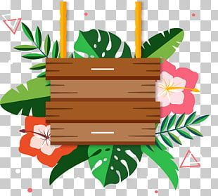Wood Signage PNG