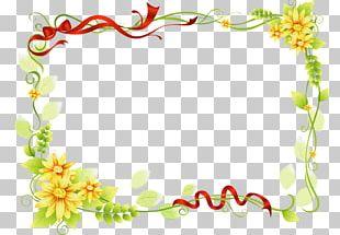 Floral Design Flower Wedding Invitation PNG