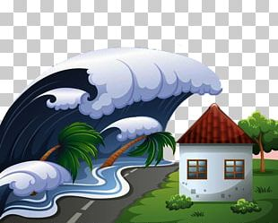 Tsunami Stock Photography PNG