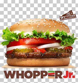 Whopper Hamburger Cheeseburger Barbecue Burger King PNG