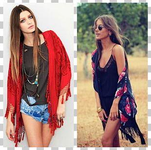 Outerwear Boho-chic Kimono Fashion Dress PNG