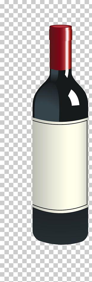Red Wine Bottle Logo PNG