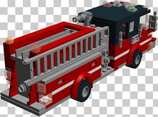 Fire Engine Truck Chicago Fire Department LEGO PNG