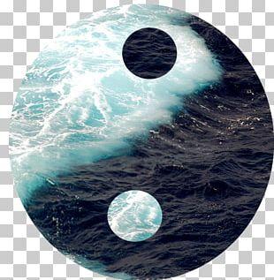 Yin And Yang Ocean Wind Wave Sea PNG