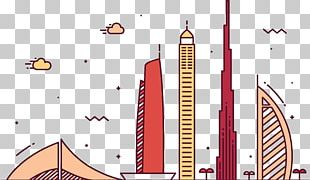 Burj Khalifa Burj Al Arab Skyline Skyscraper PNG