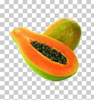 Papaya Organic Food Vegetable Fruit PNG